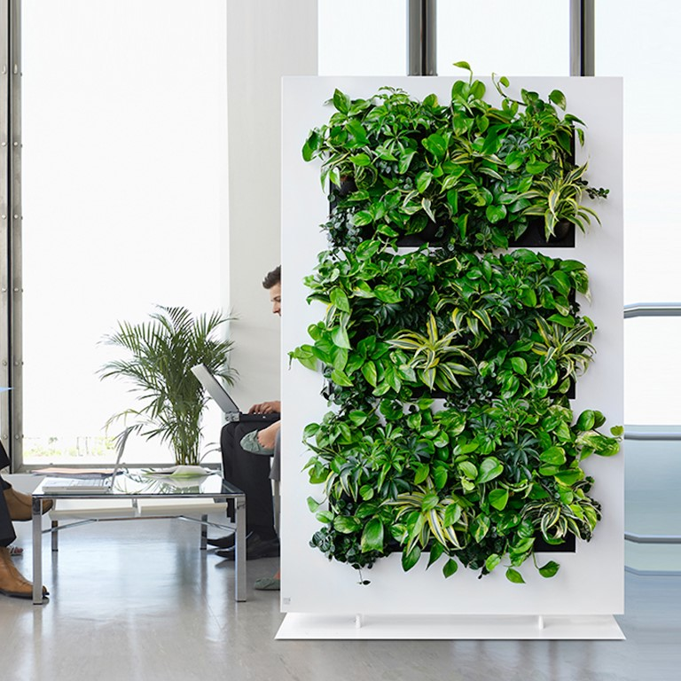Movable Living Walls by Biozenic